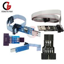 Stk500 Usbasp Avr Programmer Adapter Board Usb 10pin To 6pin Adapter For Arduino