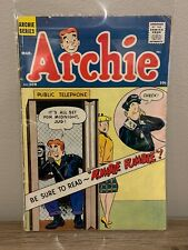 Archie #108 comic book 1960 March Betty Veronica leather jackets Gang