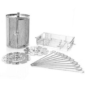 Todd English 12.7 qt Digital Air Fryer Oven 3-Piece Rotisserie Accessory Set