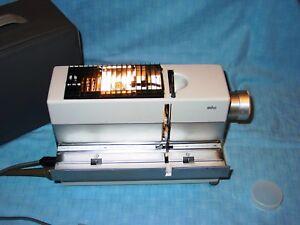 Braun  Dia Projektor  TYP  D40