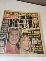 Vintage Globe Tabloid Paper November 30, 1982 100k Reward for Marilynns Killer