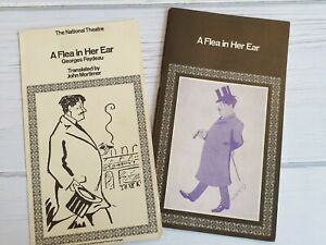 A FLEA IN HER EAR The National Theatre Programme SIGNED BY MANY ACTORS 1964 Play