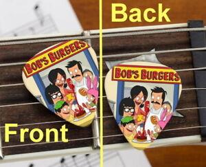 Set of 3 Bobs Burgers premium Promo Guitar Pick Pic