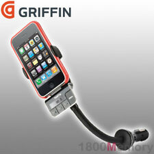 GRIFFIN Roadtrip car FM transmitter, charger and cradle, iPod & iPhone 3G & 4/4S