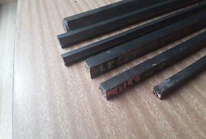 38.1mm 1.5 inch X 100mm Long 4140 Hex Bar CrMo chrome moly machining lathe mill