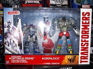 Transformers Age of Extinction Silver Knight Optimus Prime Grimlock Target NIP