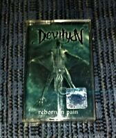Devilyn - Reborn in Pain VG Cassette Tape Played Rare Official Metal Mind Death