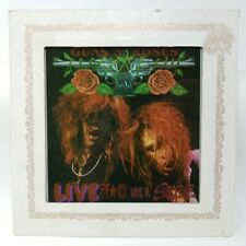 """Vintage 80's Guns N Roses Carnival Mirror LIVE ?!*@ Like a Suicide Fair Prize 8"""""""