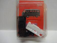 Herpa 012317-004 MiniKit Mercedes-Benz MB 100 D Bus weiß 1:87 Bausatz Neu