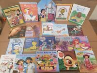 Lot of 20 BOOKS FOR GIRLS Learn to Read Picture Kids Children Library RANDOM MIX