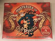 Mysteries of Old Peking -  Detective board game by Ideal. Sealed Box. Brand New