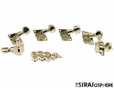 NEW Kluson 70s Style Vintage Nickel 6 In Line TUNERS for Fender Strat KFT-3805NL