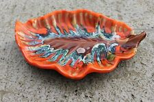Vallauris French Vintage Mid Century Modern Ceramic Centerpiece Pottery Dish