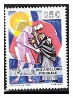 S17864) Italy MNH 1985 Elderly Old Aged People 1v