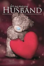Me to You 3D For My Amazing Husband Happy Birthday Love Card - Tatty Teddy