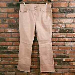 Victoria's Secret London Jean Pink Bootcut Jeans Stretch Mid-rise Women's 10/12