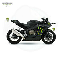 MONSTER Style graphics - Universal Fitting - Race Stickers Decals GP