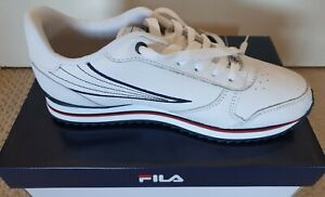 Fila Retro Classic Vintage Trainers/Sneakers Running Shoes - White,  - UK Size 7
