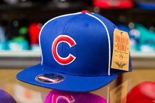 American Needle Chicago Cubs Blue/Striped Snapback Hat