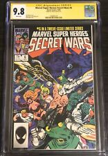 Marvel Super Heroes Secret Wars #6 CGC 9.8 Stan Lee Sign SS Iron-Man Thor Movie?
