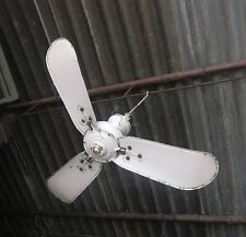 "Marelli Italy Ceiling Fan 3 blade AC 36"" Type A No.3404980 Eng.Electric Co"