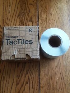 Interface Floor TacTiles-500 Pieces-NIB-P/N 2-160-100-12600