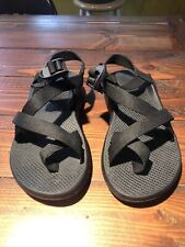 Mens Chaco Size 8 Black Toe Loop Great Condition