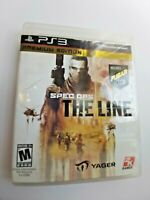 Spec Ops: The Line (Sony Playstation 3, 2012) Complete & Tested Free Shipping