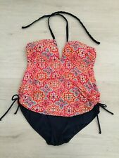 GEORGE SWIMMING COSTUME LIKE TANKINI SIZE 16 FULL CONTROL PADDED RUCHED PAISLEY?