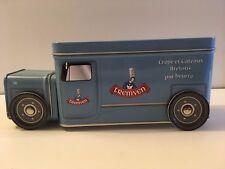 """Boîte à gâteaux """"Camion Tremven"""" métal bleu"""