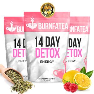 BURNFATEA - 14 DAY ENERGY DETOX TEA (Weight Loss, Pre-Workout, Energy Tea)