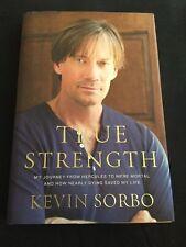 SIGNED Kevin Sorbo 1st DA CAPO PRESS EDITION True Strength Hercules Hologram COA