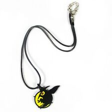 Akame ga Kill! Akame Night Raid Black Metal Pendant Necklace Chain Anime Cosplay