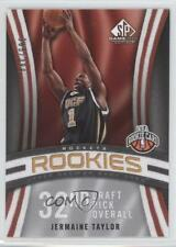 2009-10 SP Game Used /399 Jermaine Taylor #139 Rookie