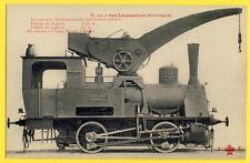 cpa Vers 1910 LOCOMOTIVE Grue ALLEMANDE Usine Fried KRUPP à ESSEN GERMANIA N° 1
