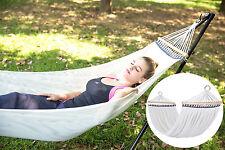 210 x 100 cm Hängematte 300kg Hängeliege Outdoor Hängematte für Garten Camping