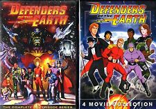 Defenders of the Earth Complete 65 Episode with Complete Movie Series DVD SET