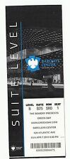2013 GREEN DAY SUITE LEVEL FULL TICKET STUB BARCLAYS CENTER 4/7/13 BROOKLYN