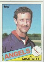 FREE SHIPPING-MINT-1985 Topps #309 Mike Witt Angels PLUS BONUS CARDS
