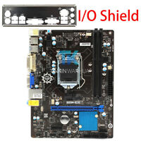 MSI B85M IE35 Original Motherboard Intel B85 Socket LGA 1150 16GB I/O Shield