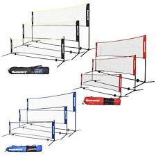 10 14 17 Feet Portable Badminton Volleyball Tennis Net Set with Carry Bag US