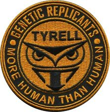 Tyrell Corp Genetic Replicans  Blade Runner Movie Patch Iron on Sew on