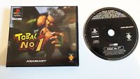 TOBAL No. 1 - Playstation 1 PS1 game (ex-rental clamshell release)