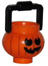 Lego ® Halloween calabaza recipientes cubo accesorios para personaje Pumpkin contenedores nuevo