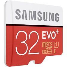 Samsung 32 GB MicroSDHC EVO Plus Karte für Galaxy S7 S8 S5 S4 S3 Mini Edge Neo