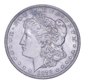 Early - 1878-S Morgan Silver Dollar - 90% US Coin *861