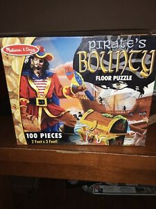 Melissa and Doug - Pirate's Bounty Floor Puzzle New / sealed #4402