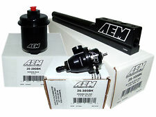 AEM High Volume Fuel Rail + Adj Pressure Regulator + Filter 94-01 Acura Integra