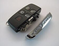 Range Rover Sport Evoque Smart Key Remote Fob Button Pad Case and Chrome Rebuild