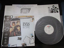 Inxs The Swing Japan Vinyl Promo Vinyl LP w OBI Michael Hutchence Nile Rodgers